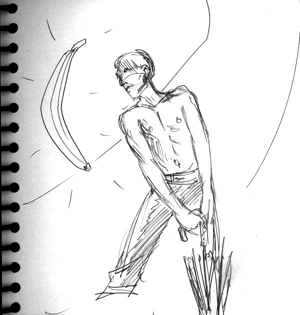 Dr Sketchy's, Banana and Dance