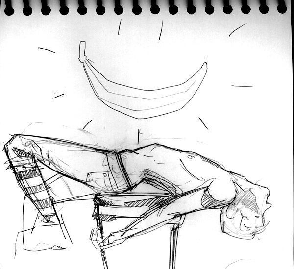 Dr Sketchy's, Banana Prophecy
