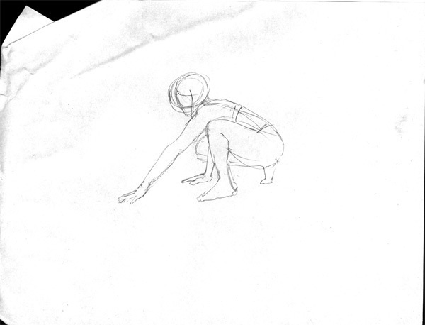 Dr Sketchy's Crouch Gesture