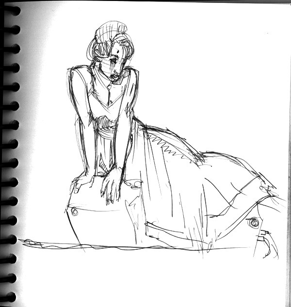 Dr Sketchy's, Demure