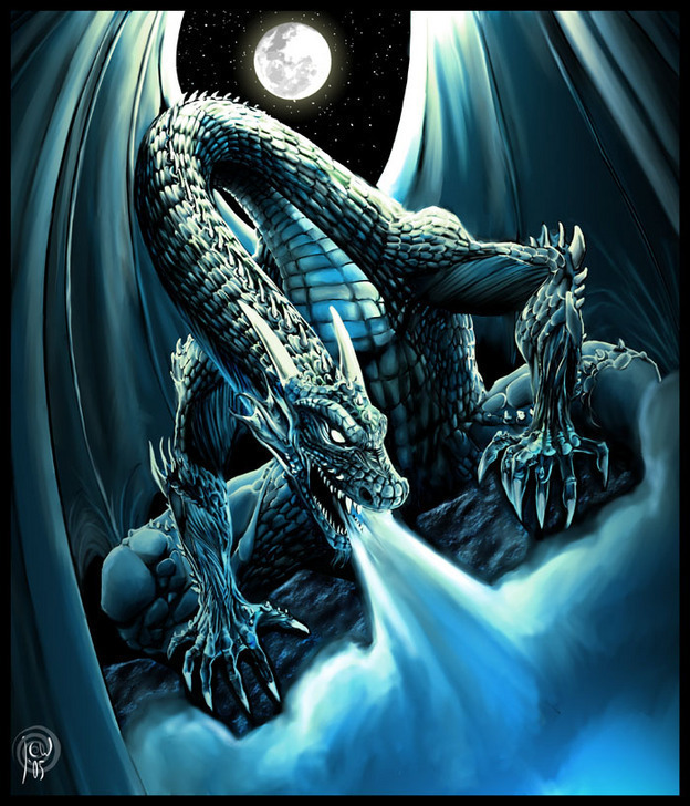 Moonlit Dragon