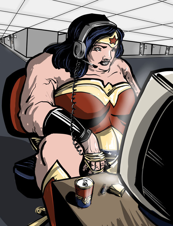 Wonder Woman of Size