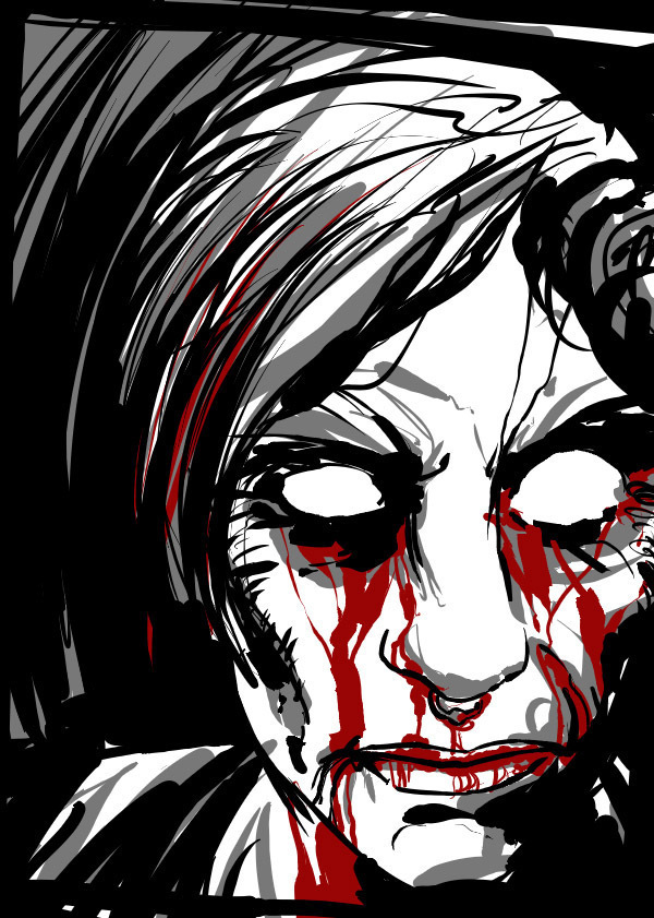 Zombie Portrait Request 4